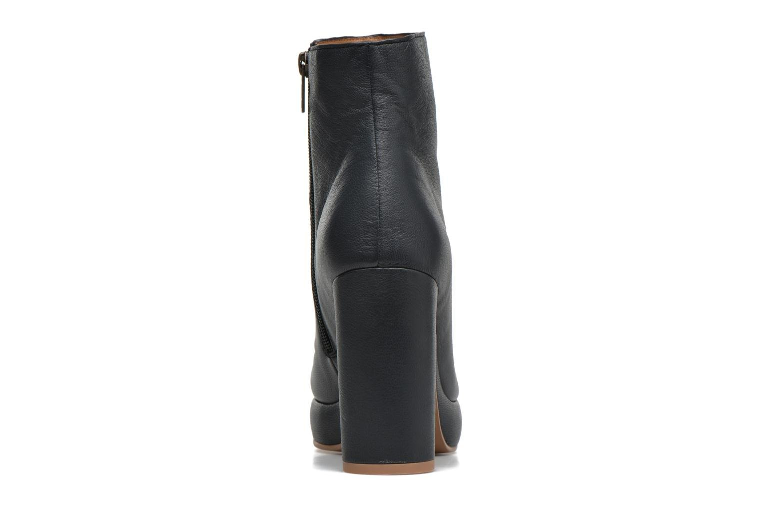 Ankle boots See by Chloé Ybli Blue view from the right