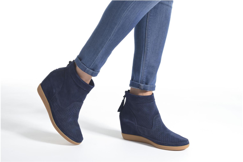 Bottines et boots Shoe the bear Emmy 3 Vert vue bas / vue portée sac