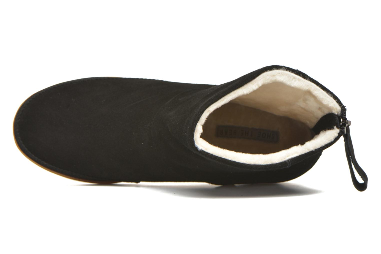 Botines  Shoe the bear Emmy Fur Negro vista lateral izquierda