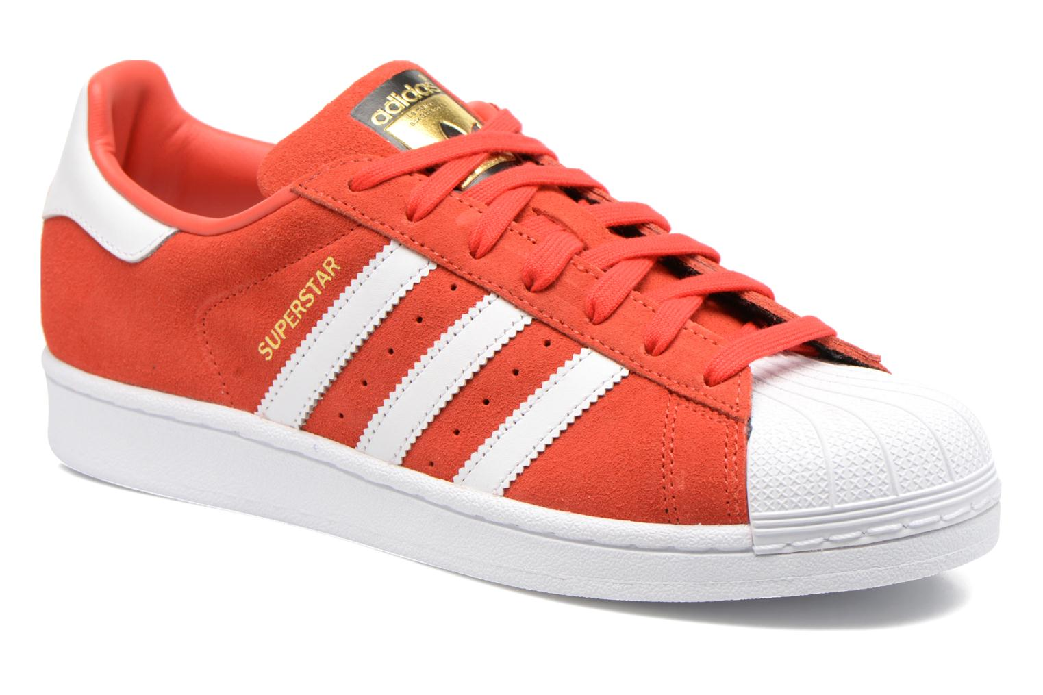 Adidas Originals Superstar rojo