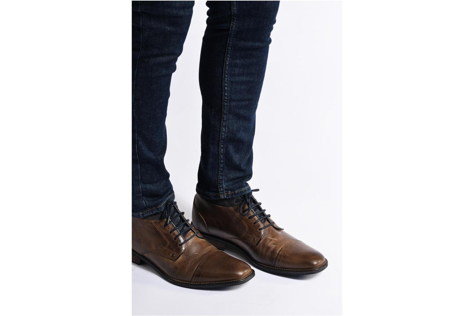 Walboots Tan+Suede Blue