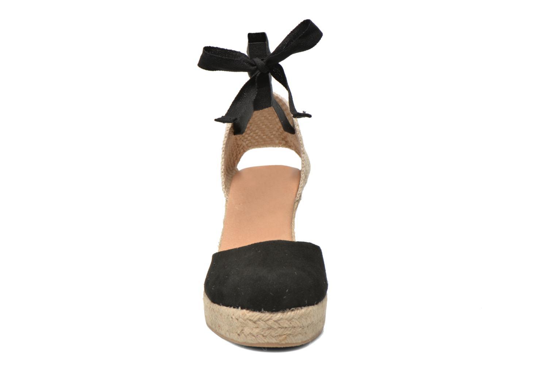 Sandalen Georgia Rose Dasoupe schwarz schuhe getragen