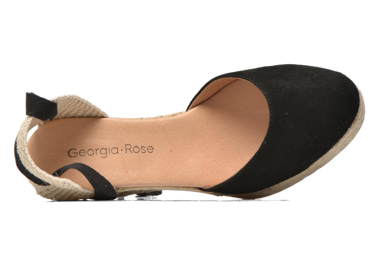 Sandalen Georgia Rose Dasoupe schwarz ansicht von links