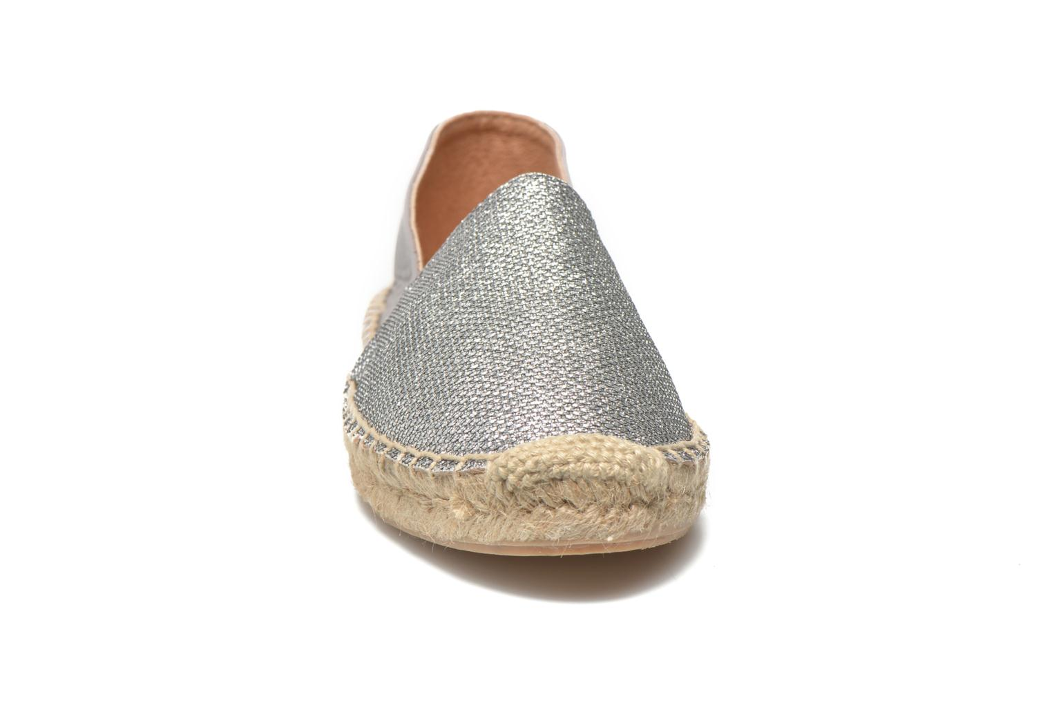 Espadrilles Georgia Rose Dapacho Silver model view