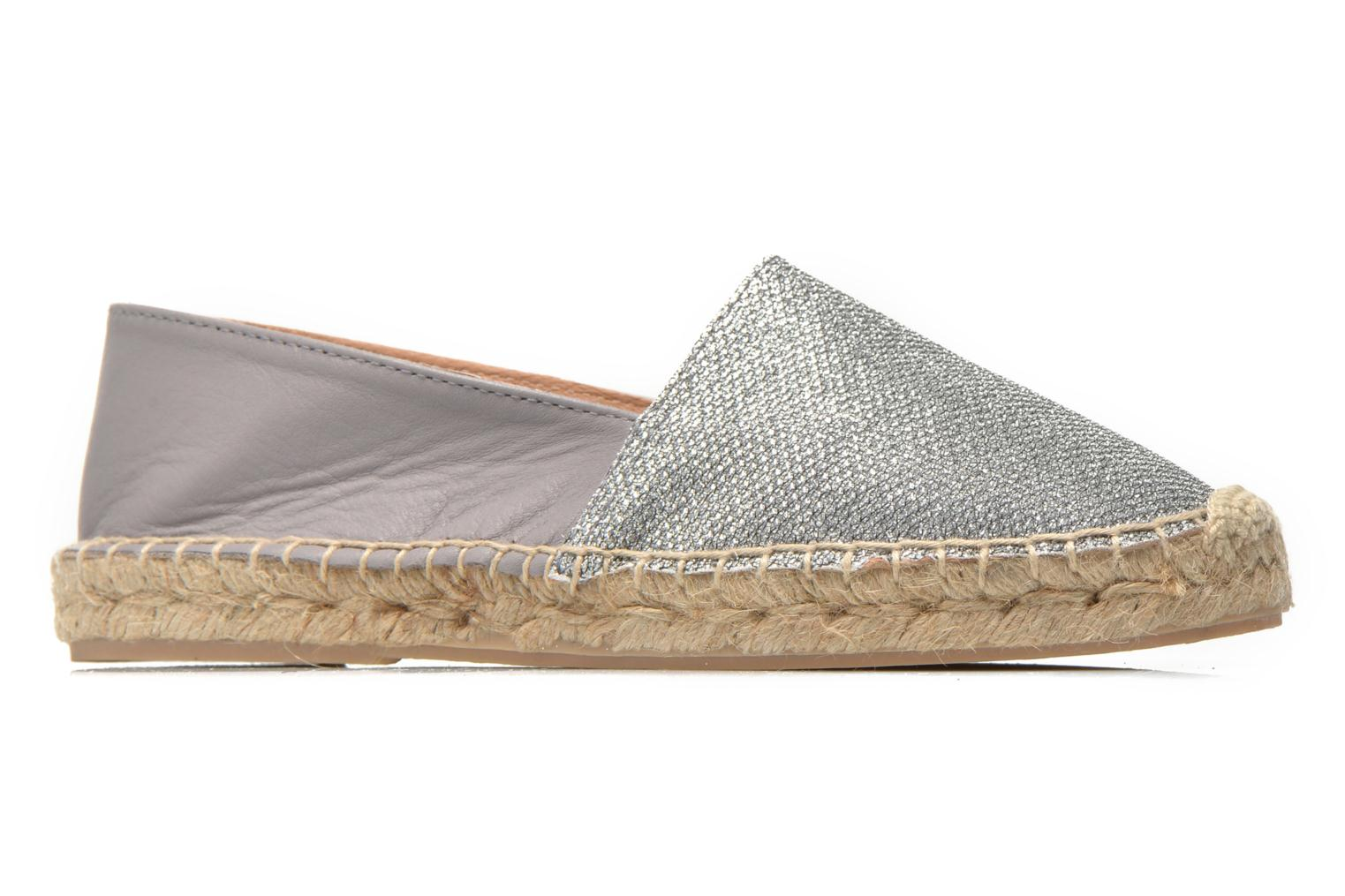 Espadrilles Georgia Rose Dapacho Silver back view