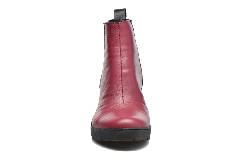 Bottines et boots Art Travel 366 Rouge vue portées chaussures