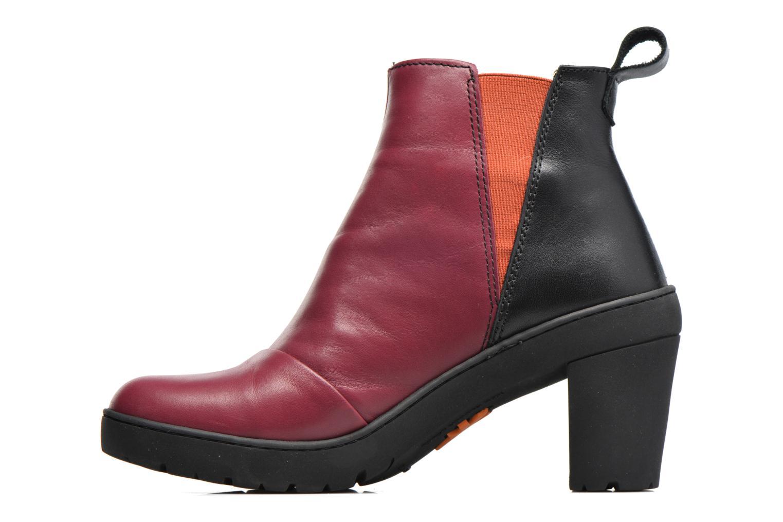 Bottines et boots Art Travel 366 Rouge vue face
