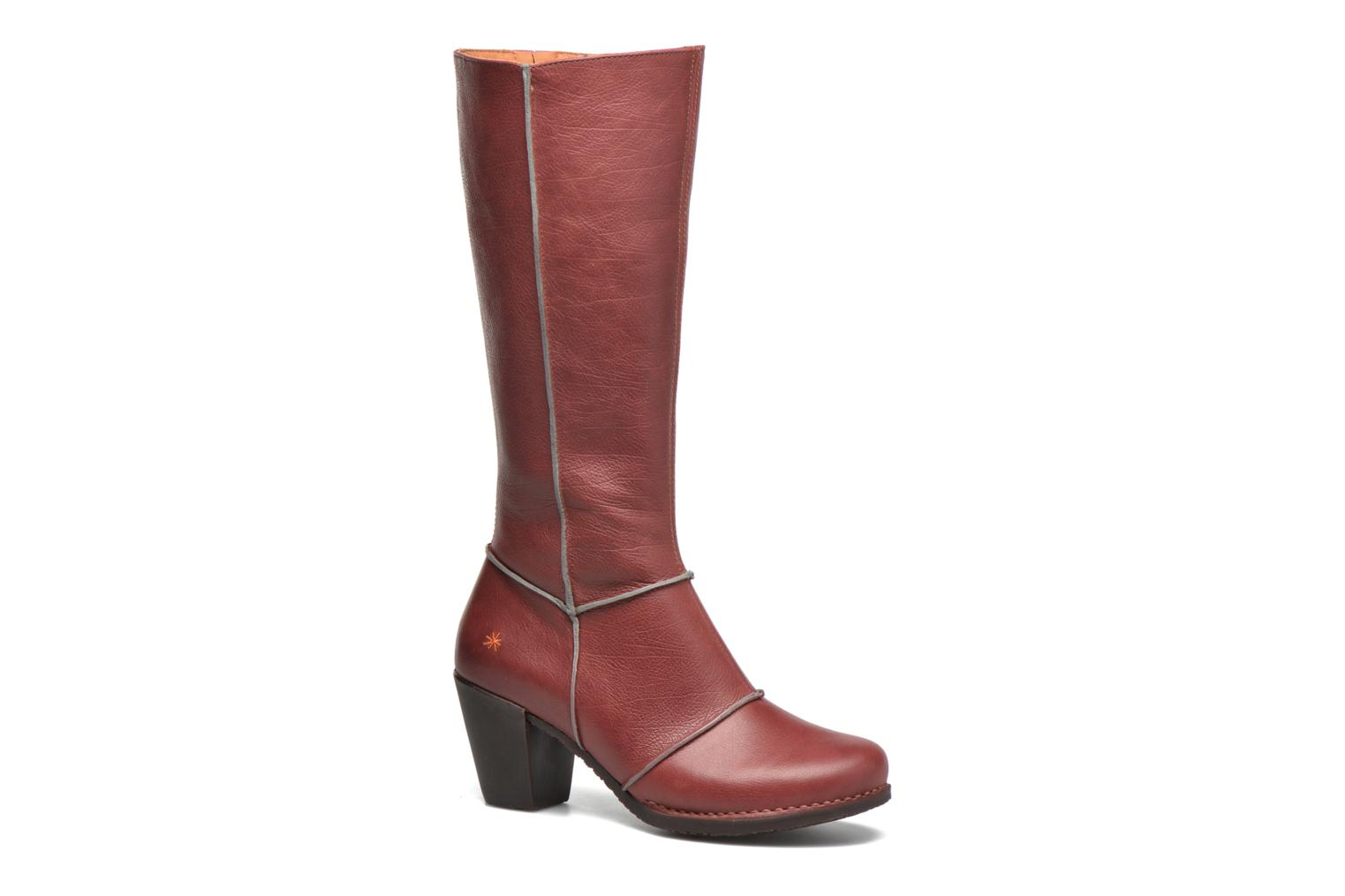 Boots & wellies Art Genova 479 Red detailed view/ Pair view