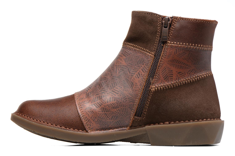 Bottines et boots Art Bergen 849 Marron vue face