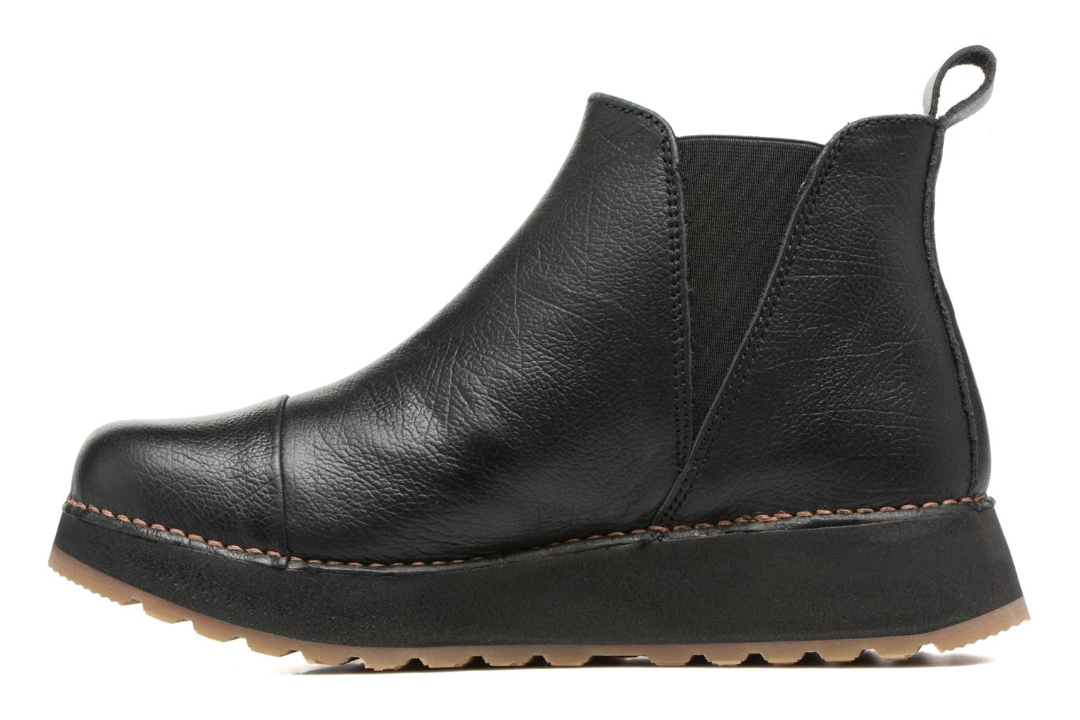 Ankle boots Art Heathrow 1023 Black front view