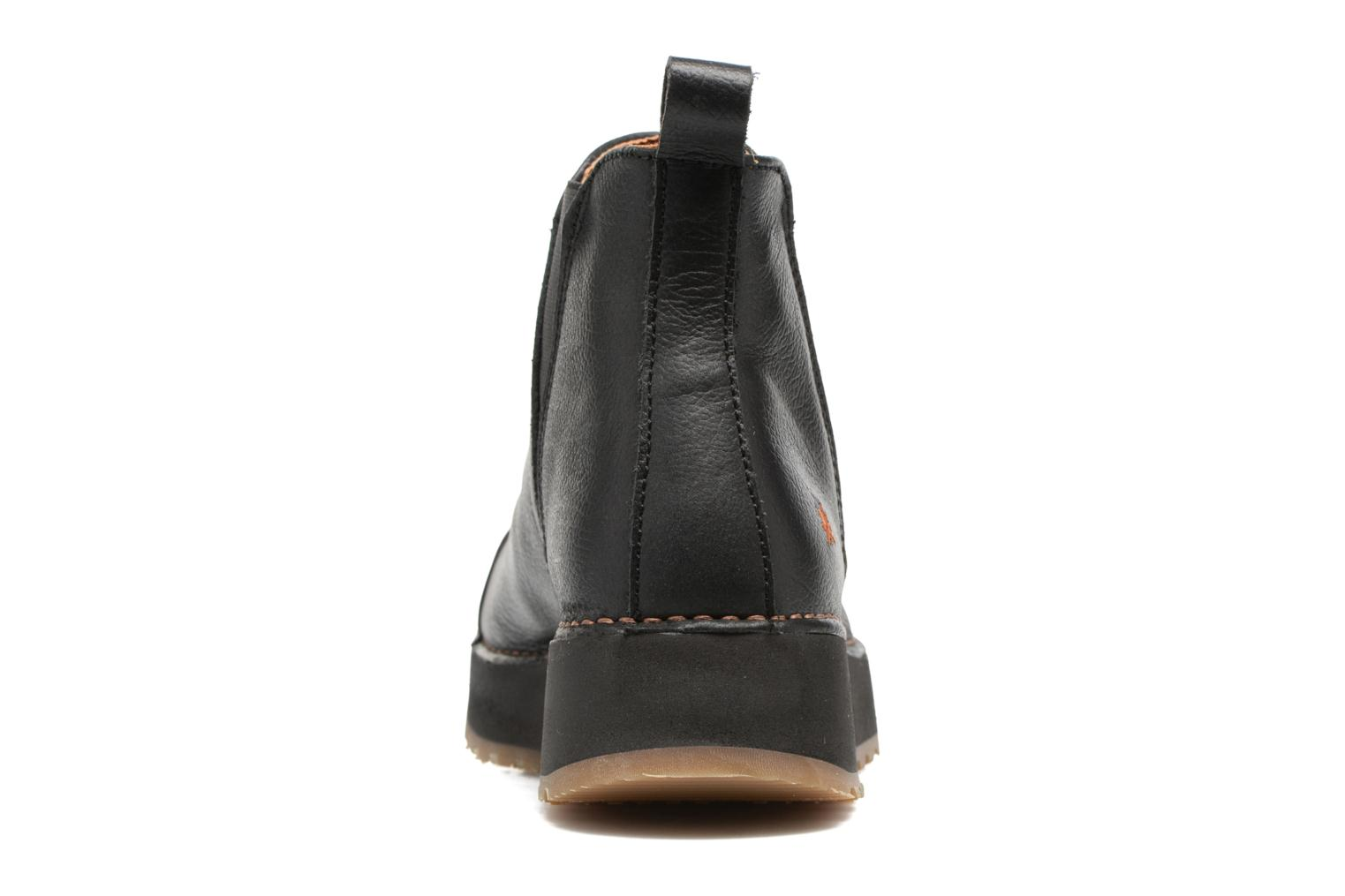Ankle boots Art Heathrow 1023 Black view from the right