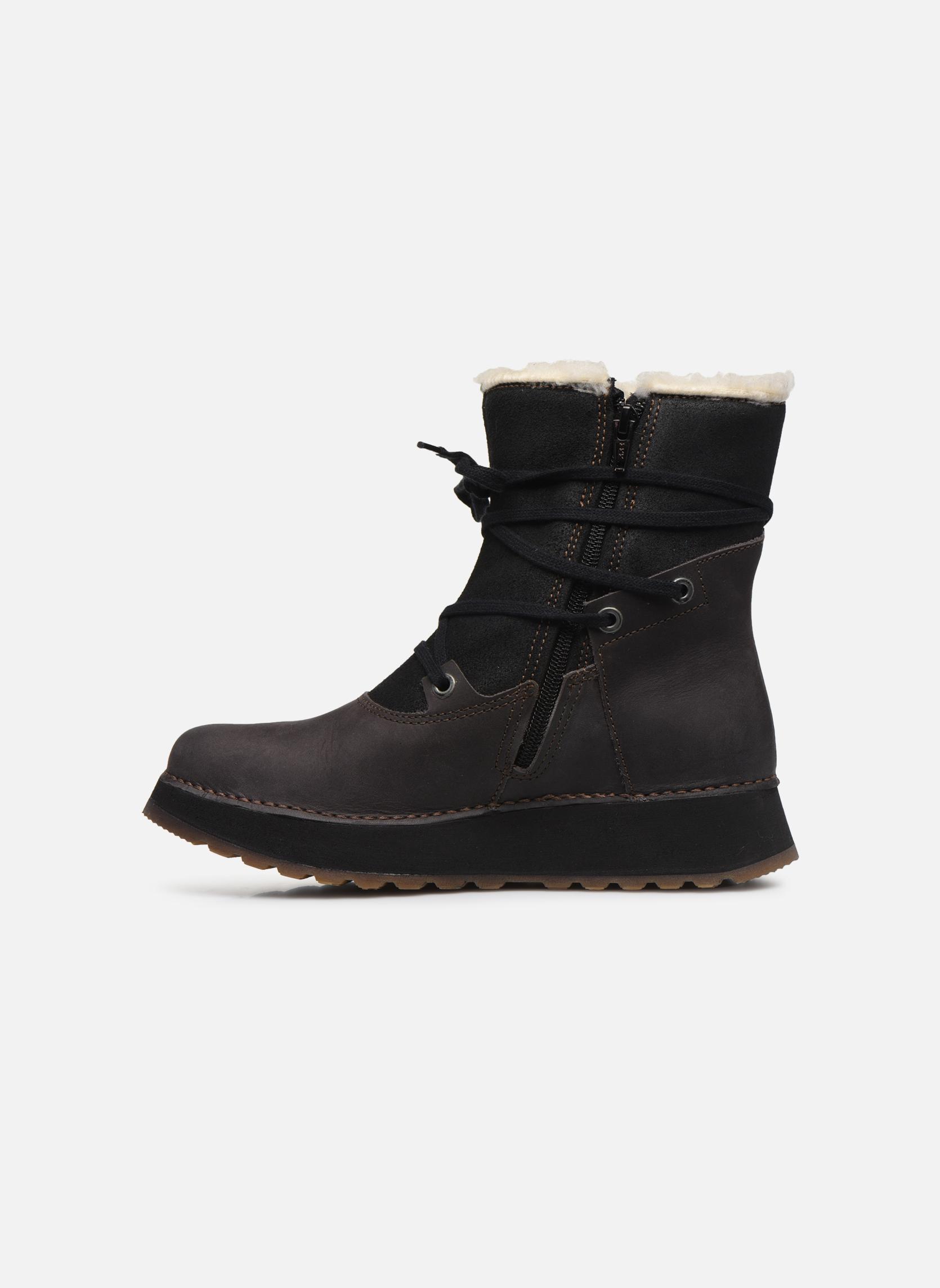 Bottines et boots Art Heathrow 1024 Noir vue face