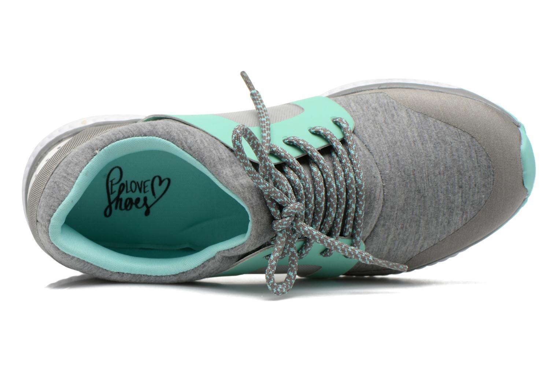 Sneaker I Love Shoes BROXYM grau ansicht von links