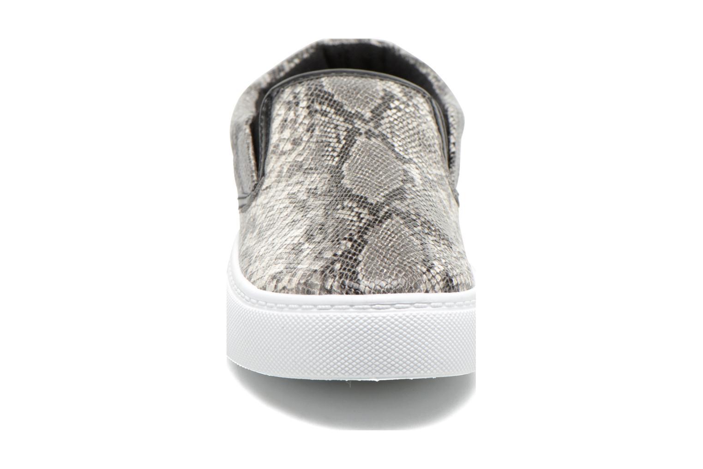 Baskets I Love Shoes BROLUPP Gris vue portées chaussures