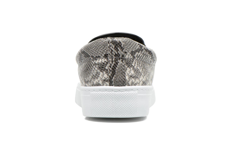 Baskets I Love Shoes BROLUPP Gris vue droite