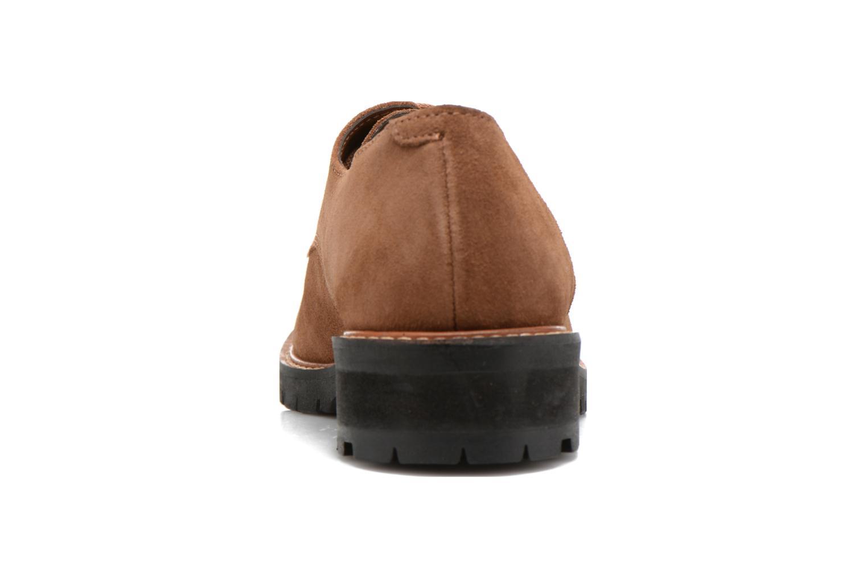 Chaussures à lacets Aldo Cadaen Marron vue droite