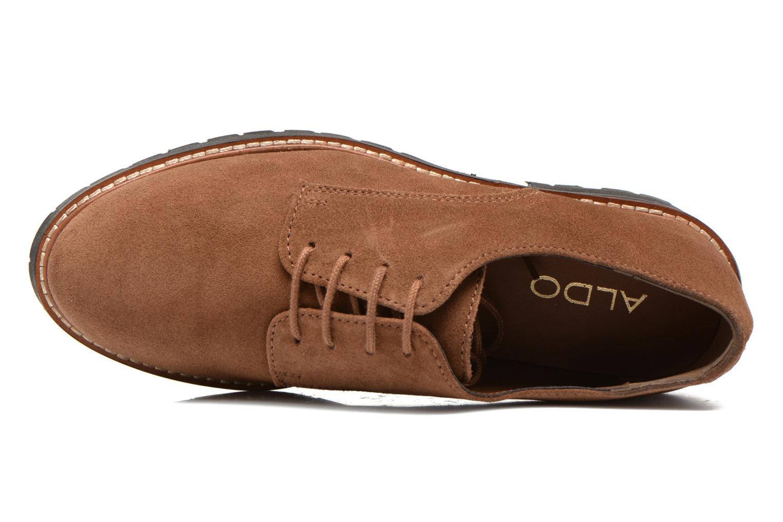 Chaussures à lacets Aldo Cadaen Marron vue gauche