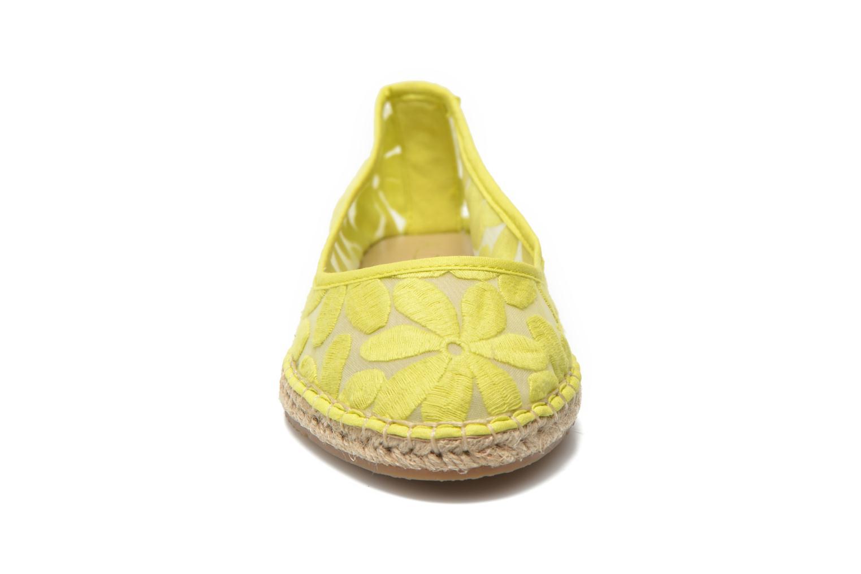 Scarpe di corda Aldo Fratello Giallo modello indossato