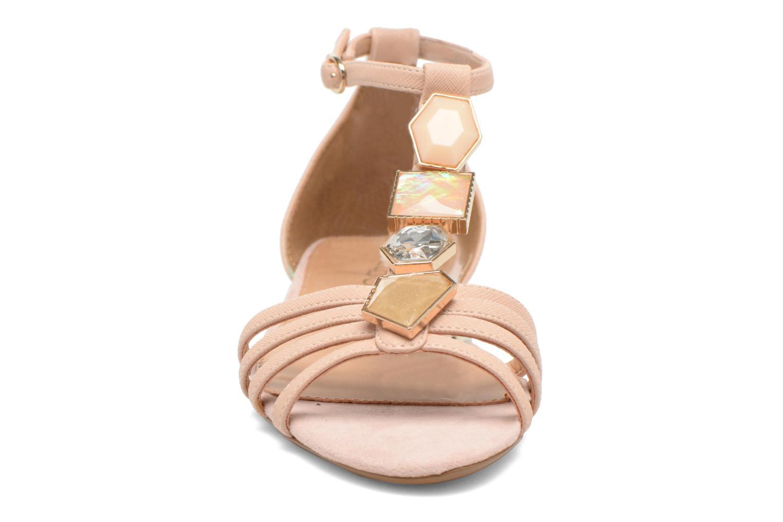Sandales et nu-pieds Aldo Lilia Beige vue portées chaussures