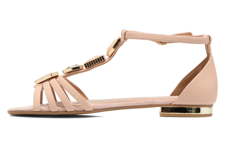 Sandales et nu-pieds Aldo Lilia Beige vue face