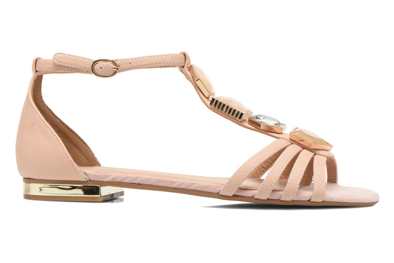 Sandales et nu-pieds Aldo Lilia Beige vue derrière