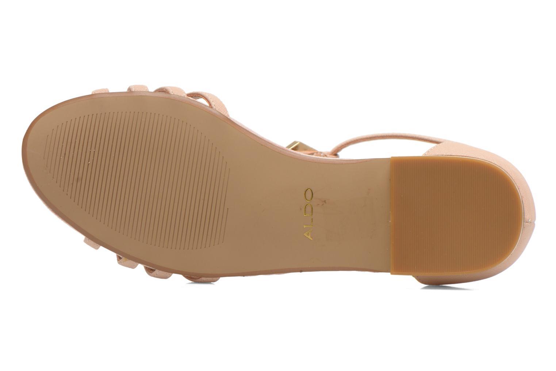 Sandales et nu-pieds Aldo Lilia Beige vue haut