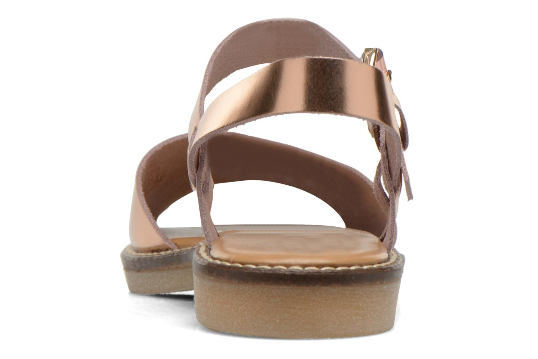 Sandales et nu-pieds Aldo Roncari Rose vue droite