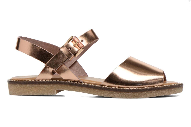 Sandales et nu-pieds Aldo Roncari Rose vue derrière
