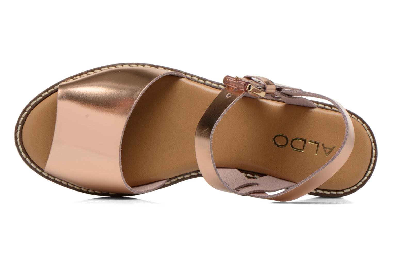 Sandales et nu-pieds Aldo Roncari Rose vue gauche