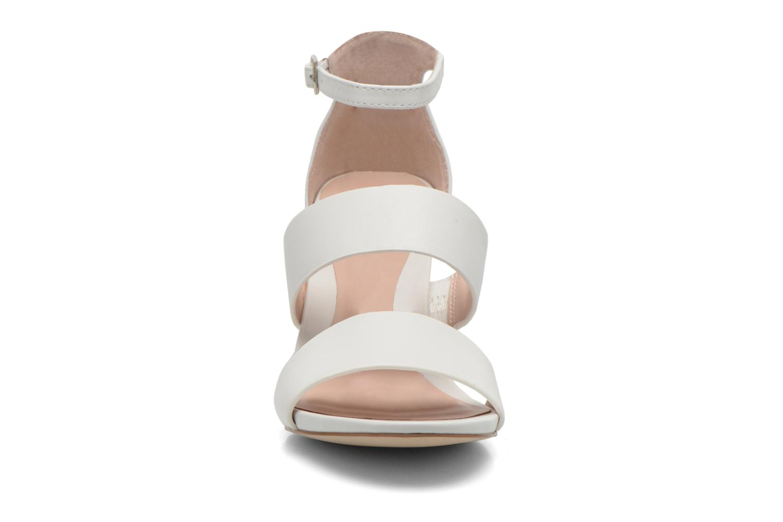 Sandalen Aldo Zilidia weiß schuhe getragen