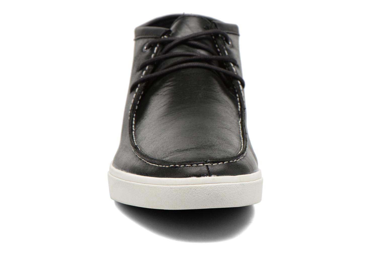 Schnürschuhe Aldo Fricke schwarz schuhe getragen