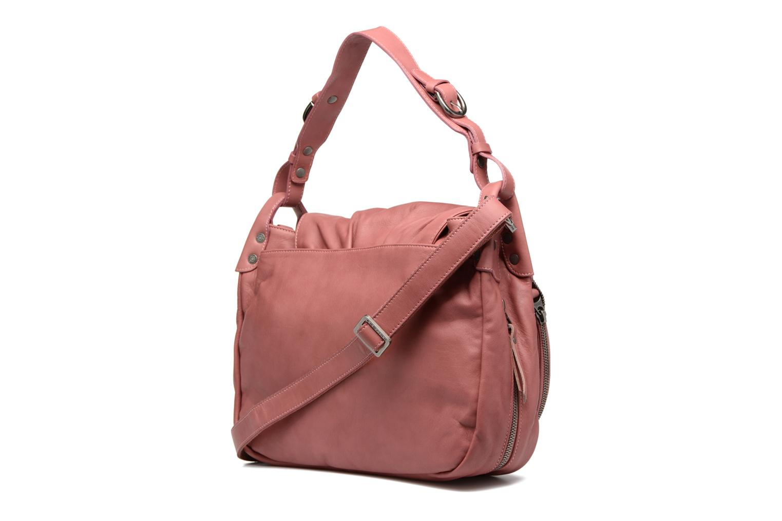 Handbags Sabrina Bérénice Pink view from the right