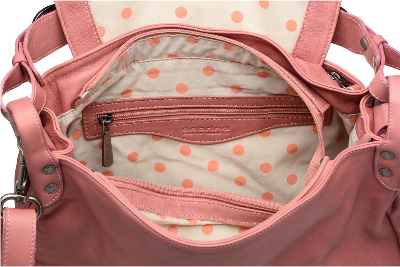 Handbags Sabrina Bérénice Pink back view