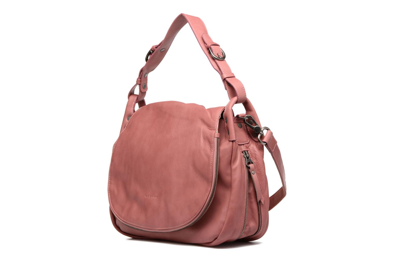 Handbags Sabrina Bérénice Pink view from the left