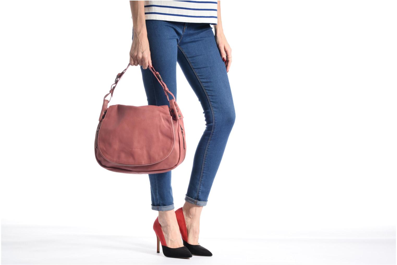 Handbags Sabrina Bérénice Pink view from above