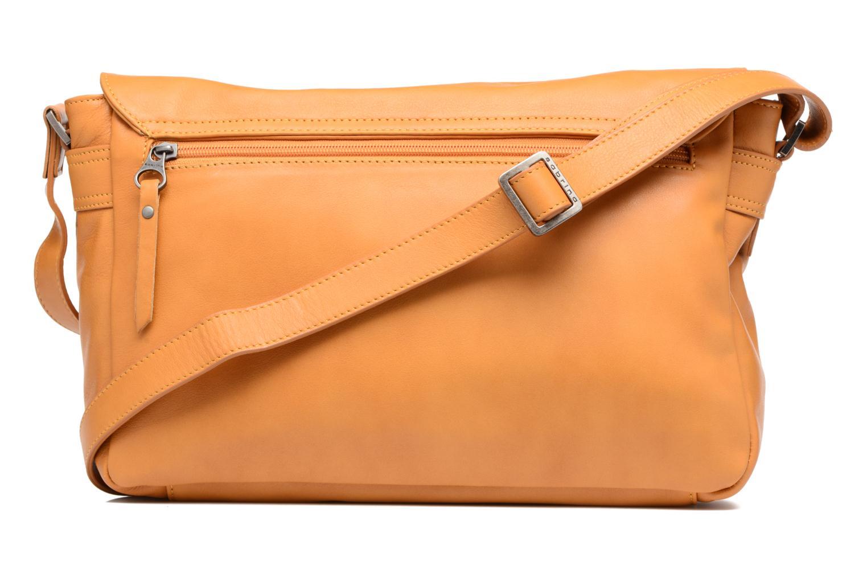 Handtaschen Sabrina Victoria gelb ansicht von vorne