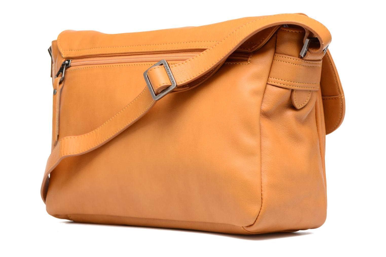 Handtaschen Sabrina Victoria gelb ansicht von rechts