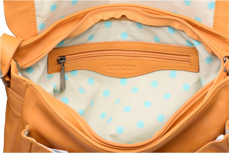 Handtaschen Sabrina Victoria gelb ansicht von hinten