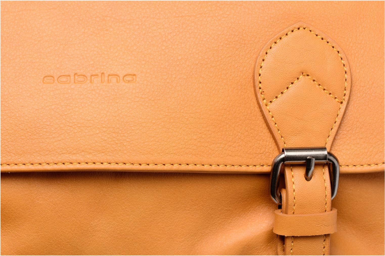 Handtaschen Sabrina Victoria gelb ansicht von links