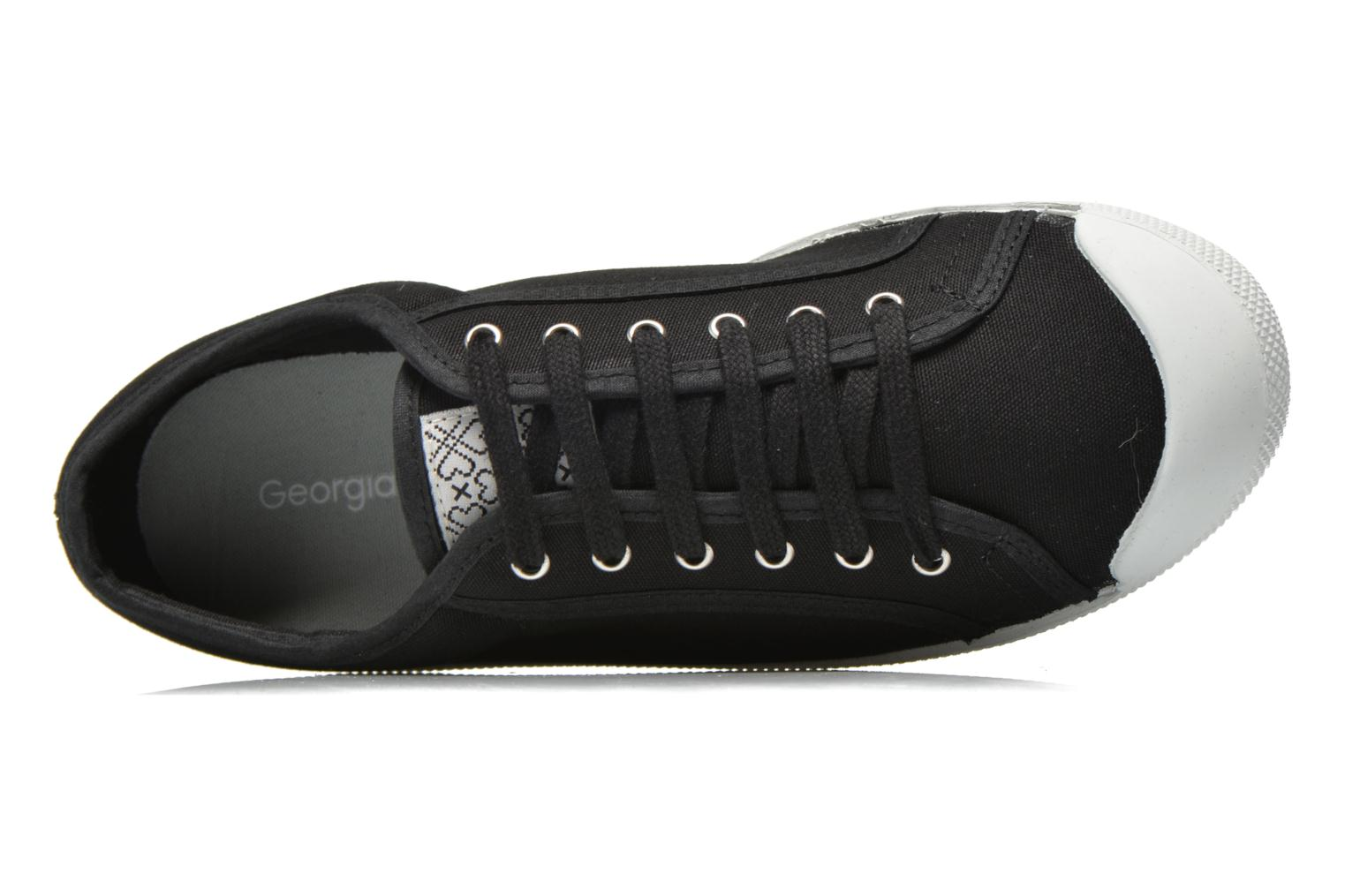 Trainers Georgia Rose Mamine Black view from the left