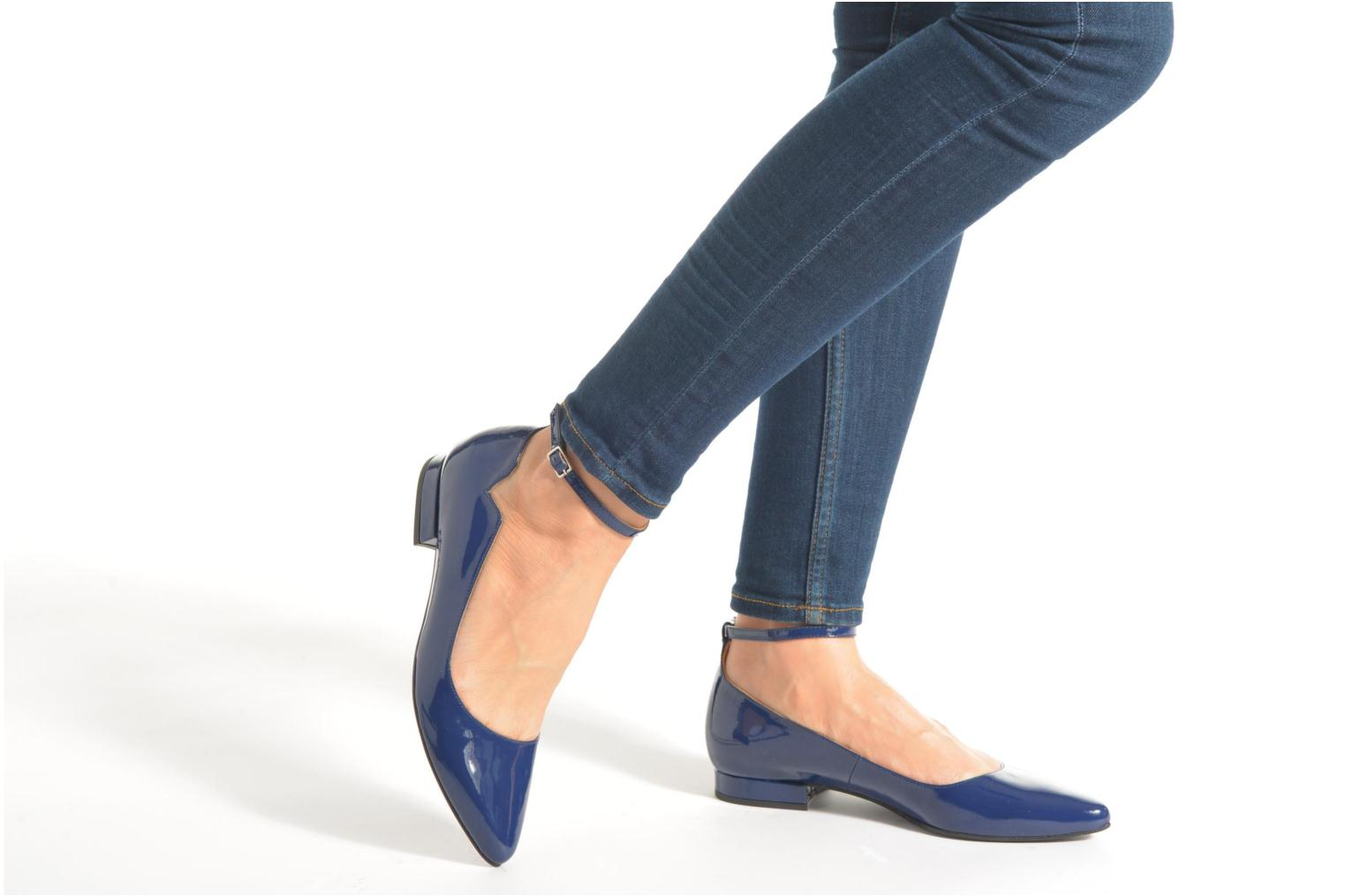 Ballet pumps Made by SARENZA West Mister #4 Blue view from underneath / model view