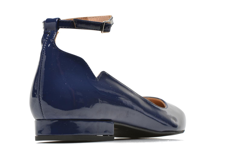 Ballerines Made by SARENZA West Mister #4 Bleu vue portées chaussures