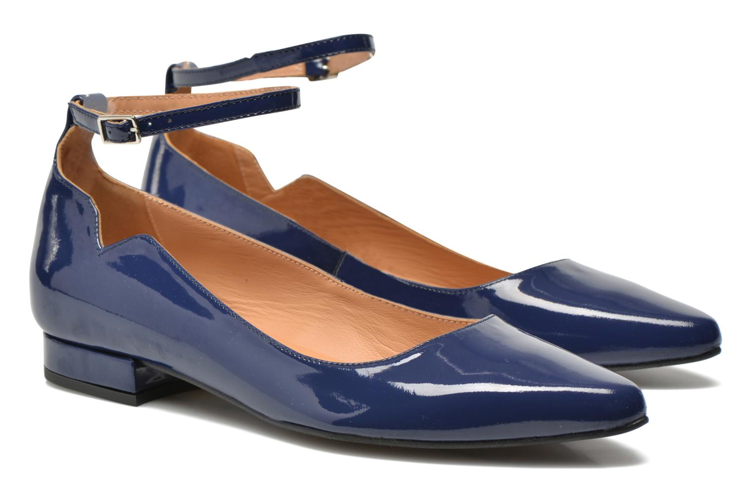Ballet pumps Made by SARENZA West Mister #4 Blue view from the right