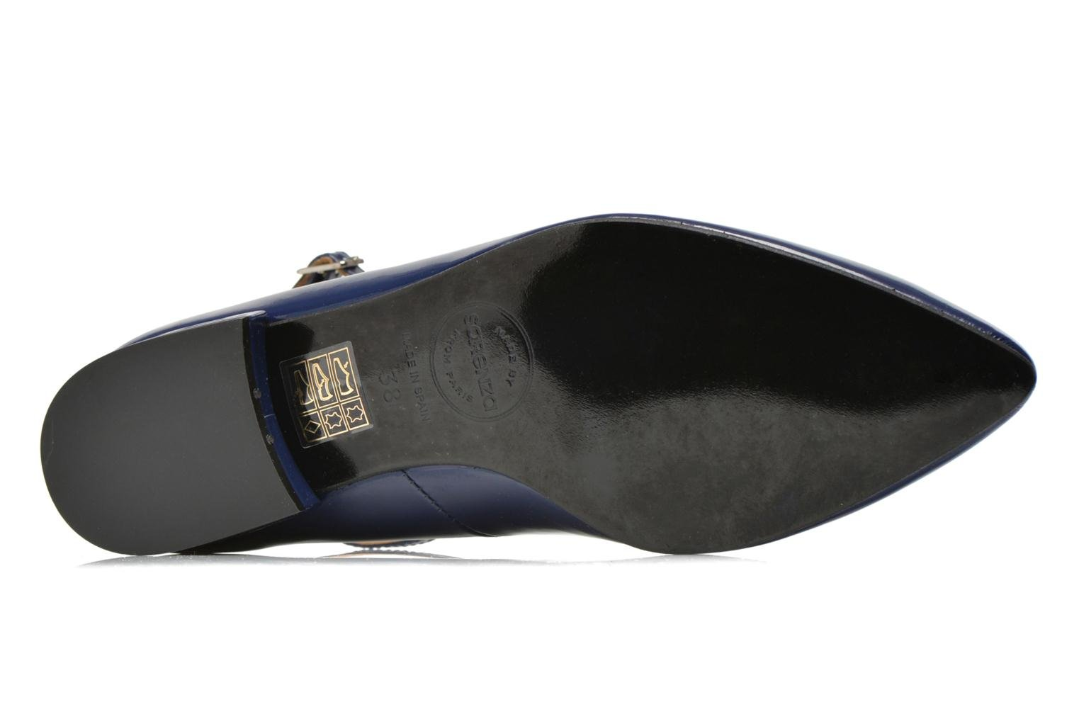 Ballet pumps Made by SARENZA West Mister #4 Blue view from the left