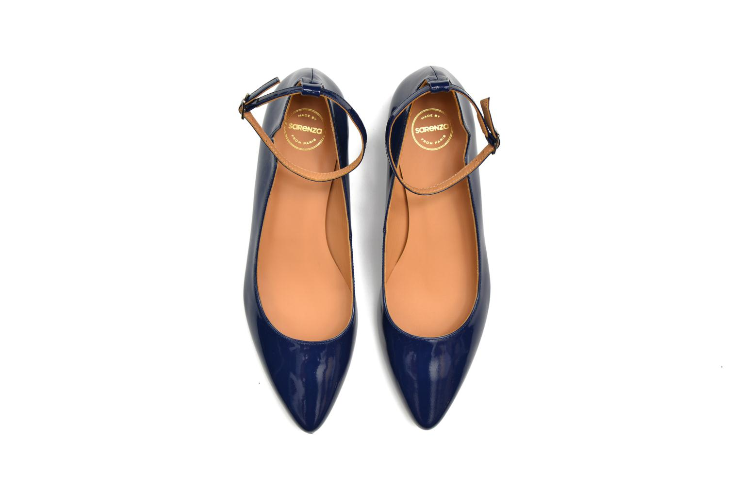 Ballet pumps Made by SARENZA West Mister #4 Blue view from above