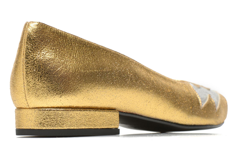 Ballerines Made by SARENZA Ziggy Baby #1 Or et bronze vue portées chaussures
