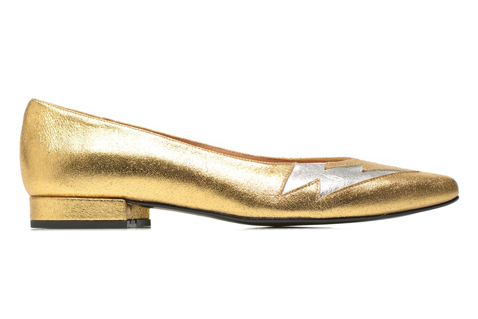 Ballet pumps Made by SARENZA Ziggy Baby #1 Bronze and Gold detailed view/ Pair view