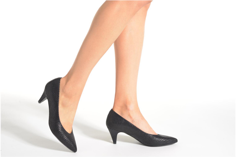 Zapatos de tacón Made by SARENZA Glossy Cindy #9 Negro vista de abajo