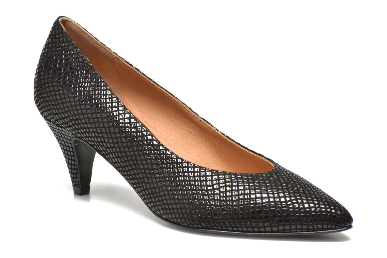 Zapatos de tacón Made by SARENZA Glossy Cindy #9 Negro vista de frente