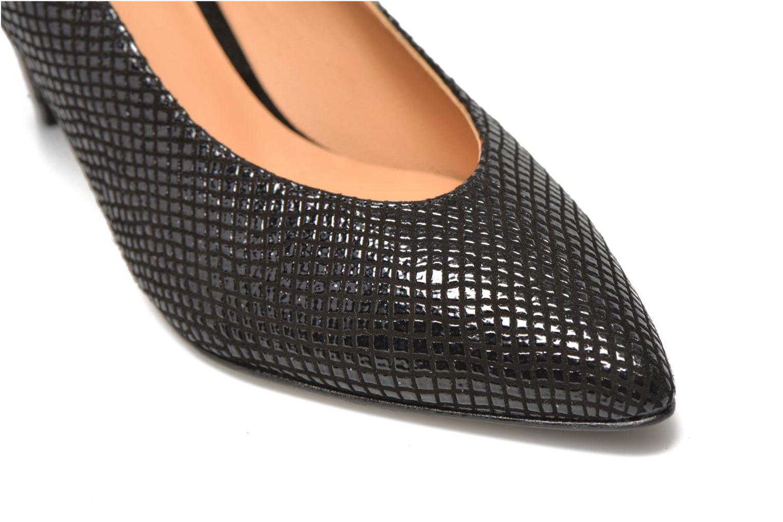 Zapatos de tacón Made by SARENZA Glossy Cindy #9 Negro vistra trasera